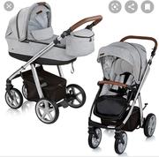 Коляска Espiro next avenue 2 в 1 + автолюлька Baby design leo